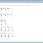 Rでのベクトル・行列の作成と四則演算・要素の参照【第1回】