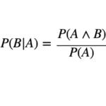 条件付き確率とは?定義とわかりやすい解説