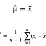 不偏推定量とは?平均と分散を例に分かりやすく解説