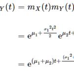 正規分布の性質(再生性など)とその証明