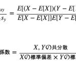相関係数の意味と定義(公式)