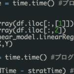 PythonとR言語のプログラム処理速度を比較!